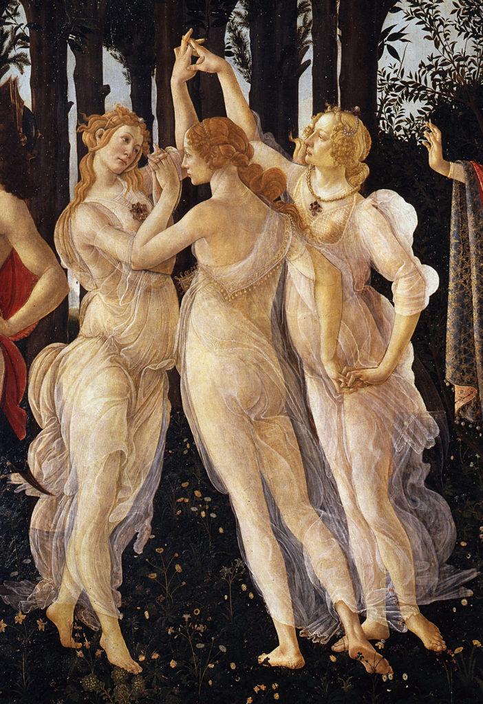 Botticelli's Primavera-Three Graces