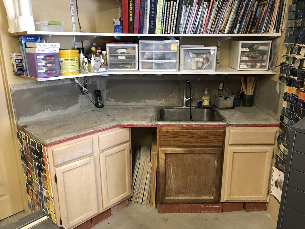 Tiling countertop