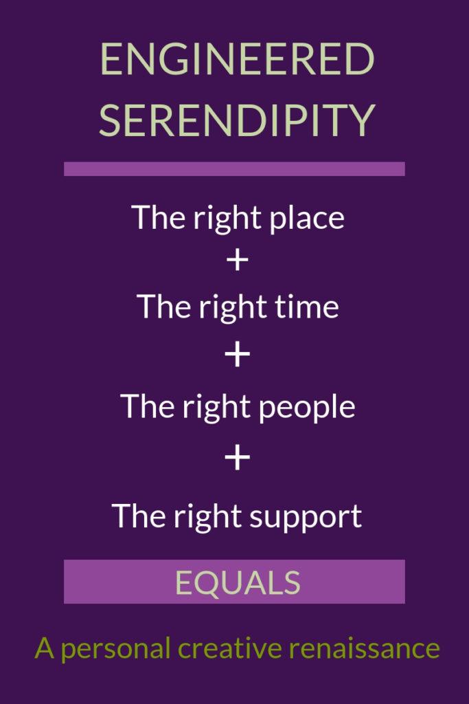Engineered serendipity