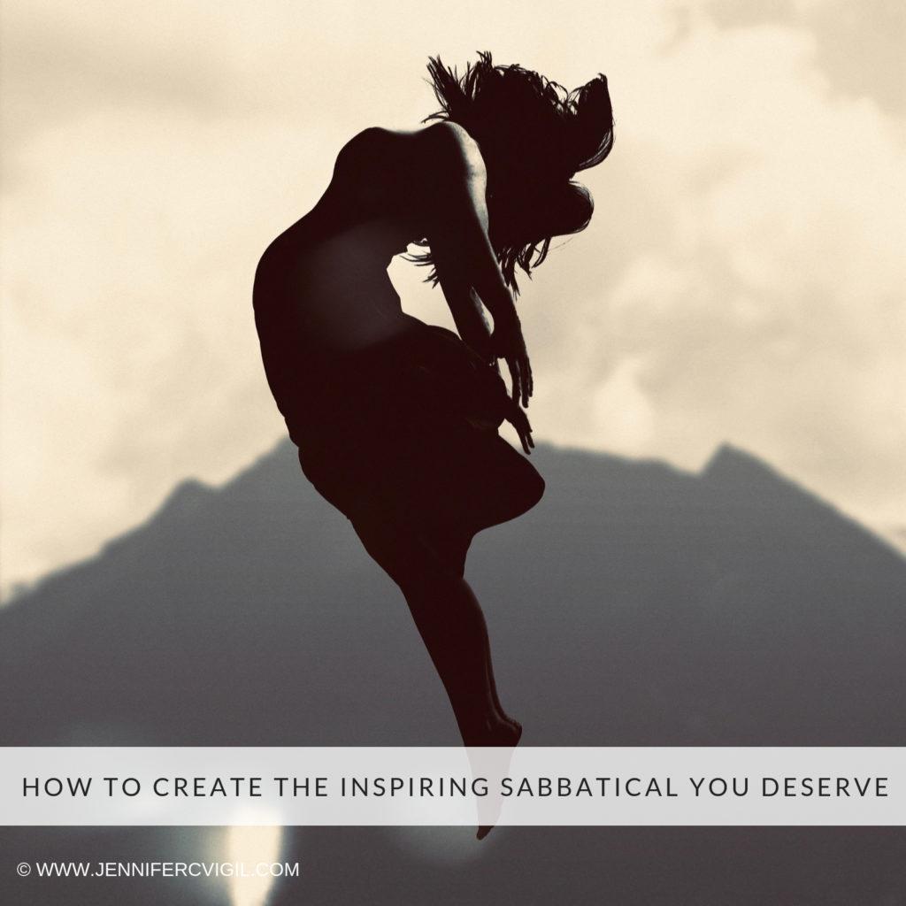 Create an inspiring sabbatical
