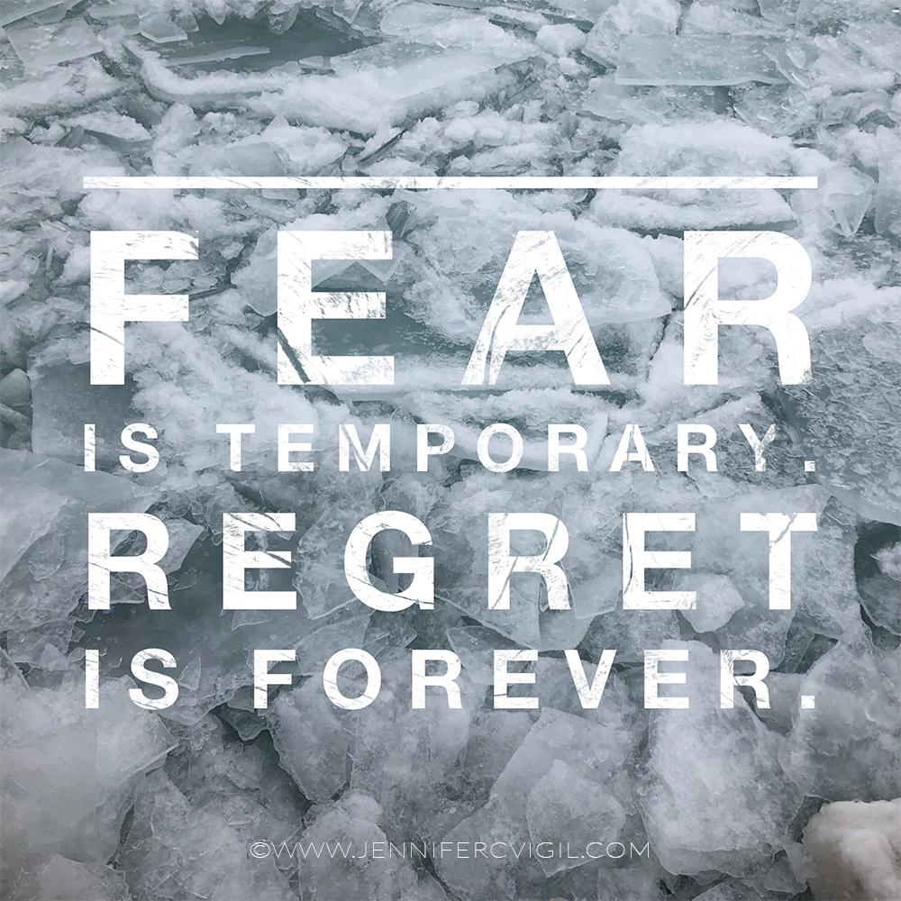 Fear and retreat, Jennifer C Vigil