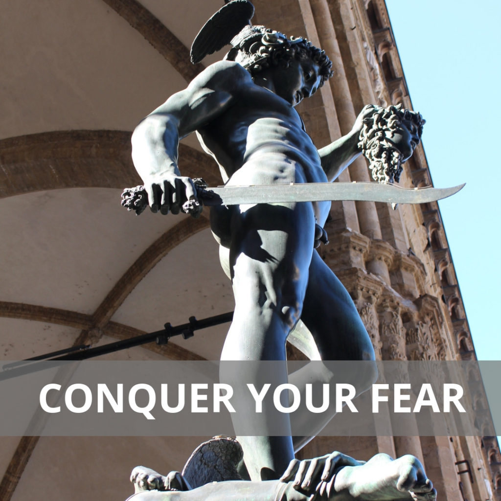 Piazza Signoria, Florence, Italy, Fear