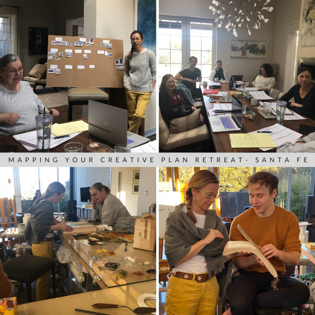 Ambitious Artists' Cafe Retreat 2020