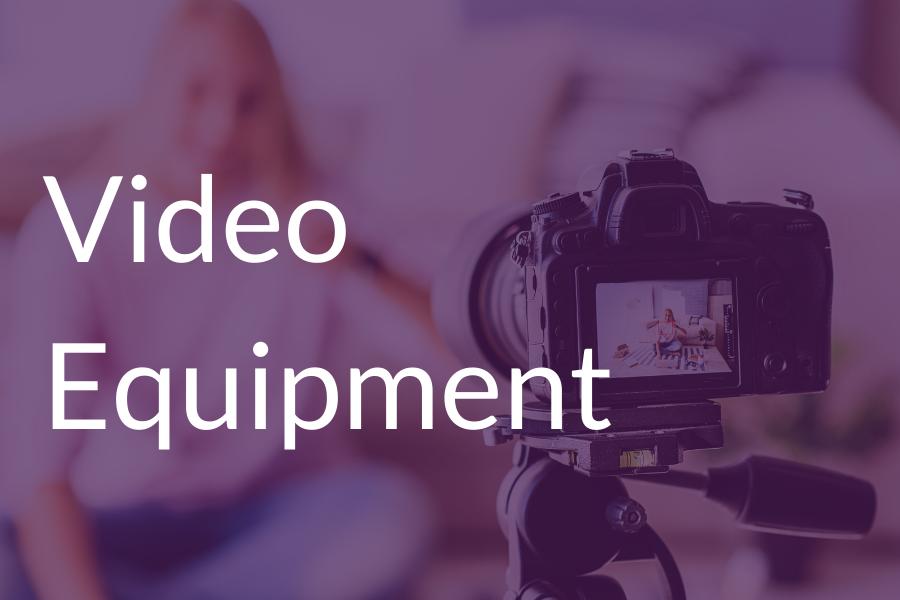 Jennifer C Vigil - Video Equipment